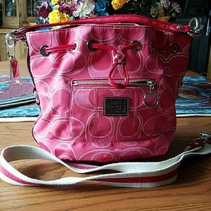 Coach bag, Authentic.crossbody strap.